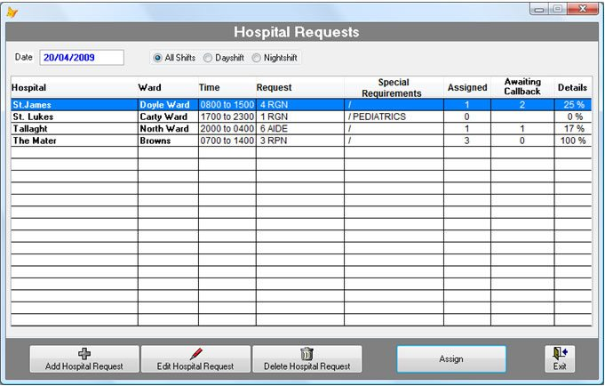 Nursing Agency Management Software | AdminPro Nursing Agency Edition