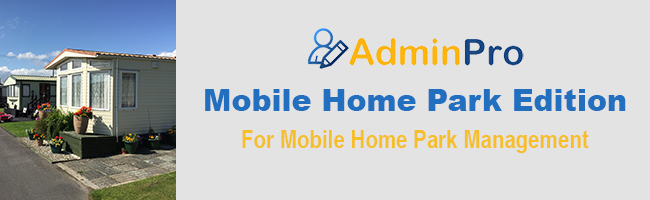 Mobile Home Park Management Software